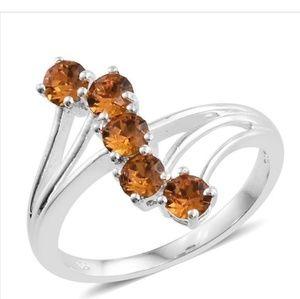 Jewelry - 💍🍊🍁🎉Sterling Silver💎 SWAROVSKI
